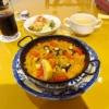相模原『ソレアド』タコとミニトマトのパエリア的ランチを食す!