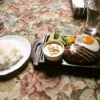 函館旅行グルメ『大賀』ハンバーグフライドエッグデミソースを食す!