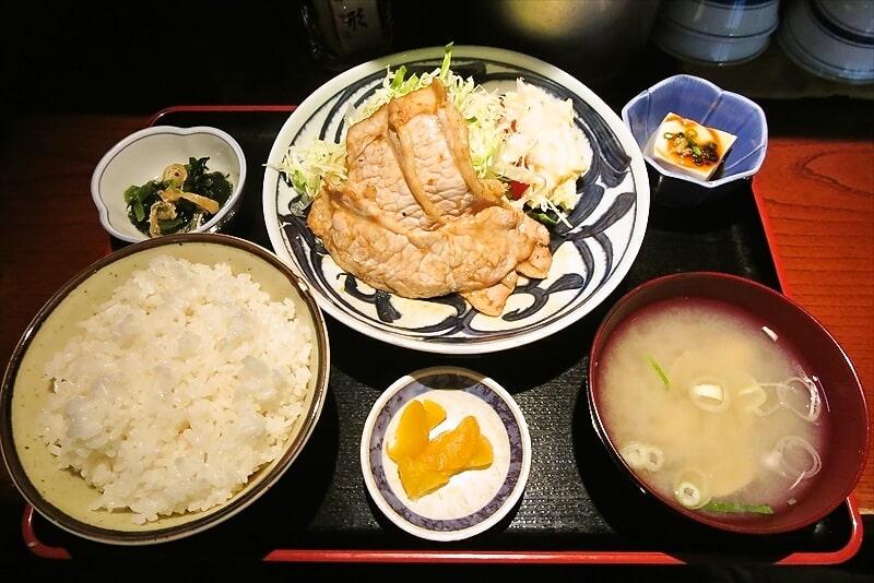 【銀座】『銭形』元祖・豚の生姜焼き定食を食べてみた【ランチ】