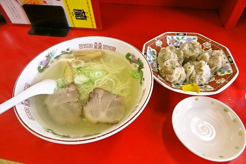 函館旅行グルメ『函館ラーメン 鳳蘭』シューマイが美味しい町中華