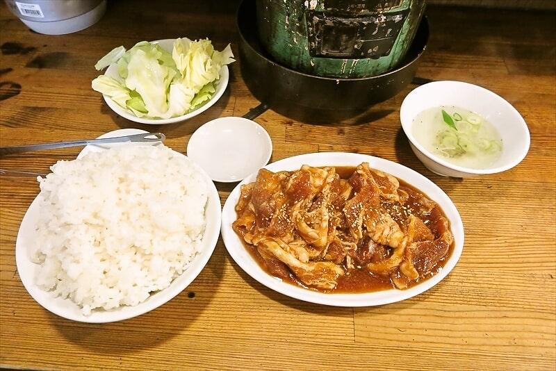 いくどん生姜焼き定食1