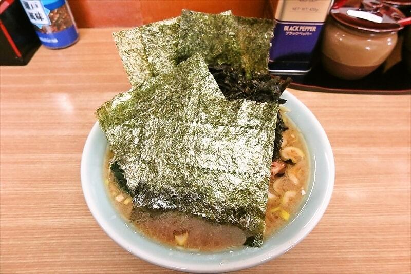 町田『奥津家』2020年の家系ラーメンを食べ収める時