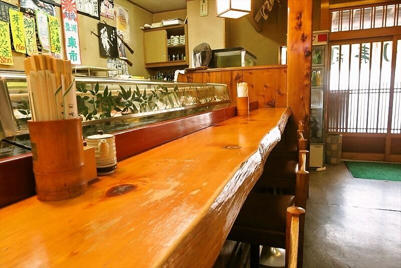 みどり寿司カウンター