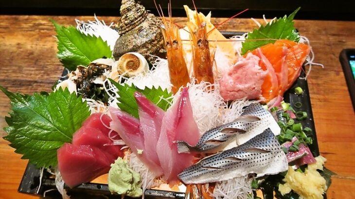 『遊喜や』刺身盛り合わせ1200円が最高な件@淵野辺