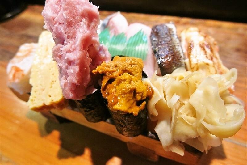 遊喜や握り寿司