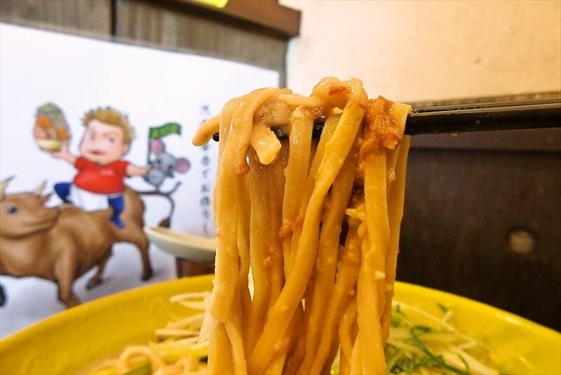 麺屋歩夢大つけ麺ラー油抜き釜揚げネギW6