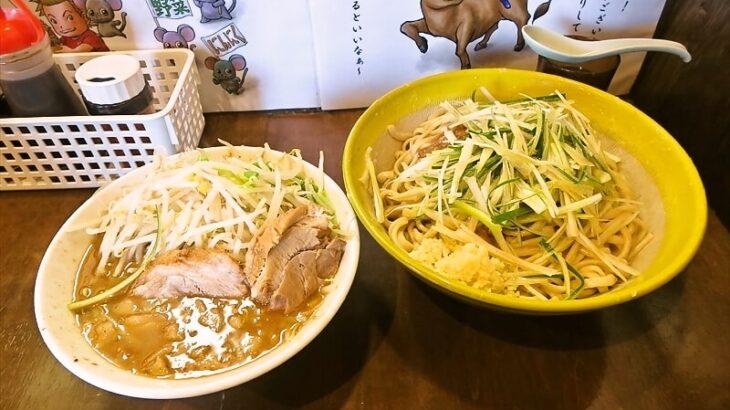 『麺屋 歩夢』つけ麺を油そばっぽく食べると二度美味しい説@相模原
