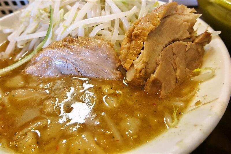 麺屋歩夢大つけ麺ラー油抜き釜揚げネギW3