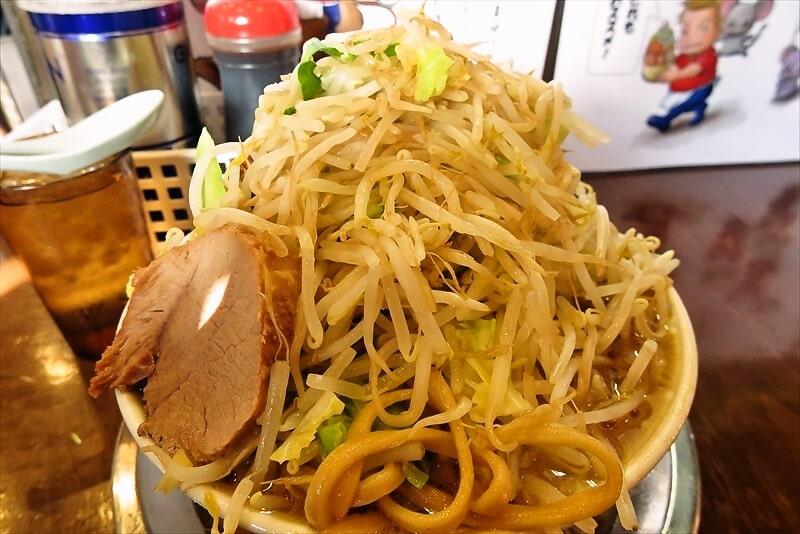 麺屋歩夢小ラーメンヤサイマシマシ7