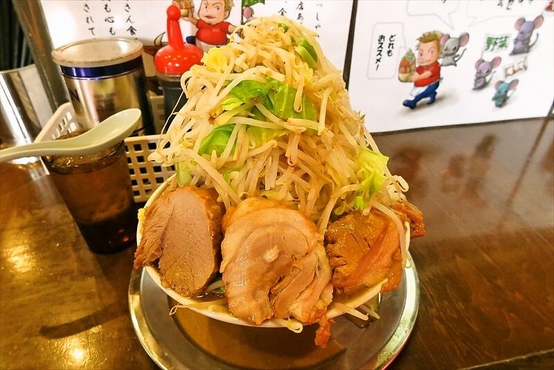 麺屋歩夢小ラーメンヤサイマシマシ2