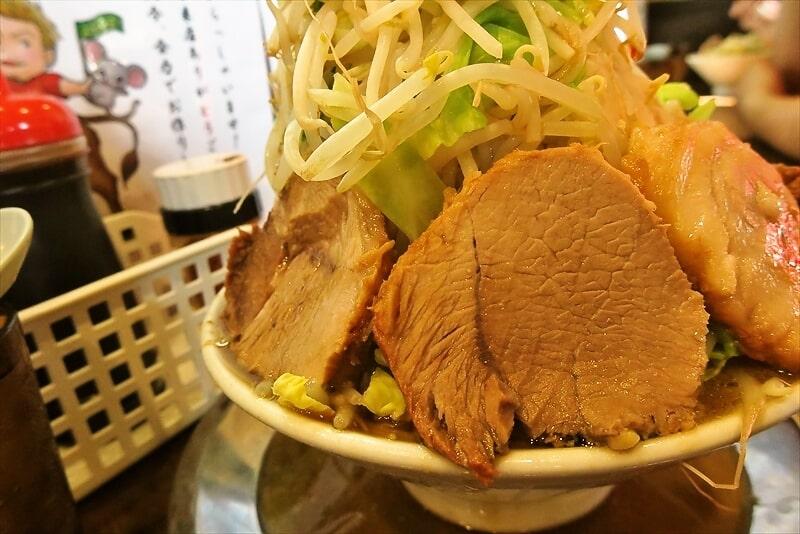 麺屋歩夢小ラーメンヤサイマシマシ3
