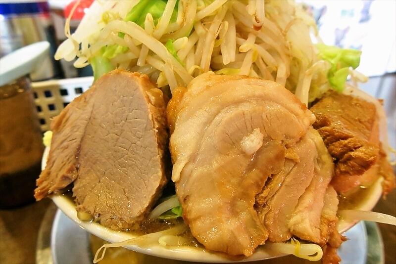 麺屋歩夢小ラーメンヤサイマシマシ4