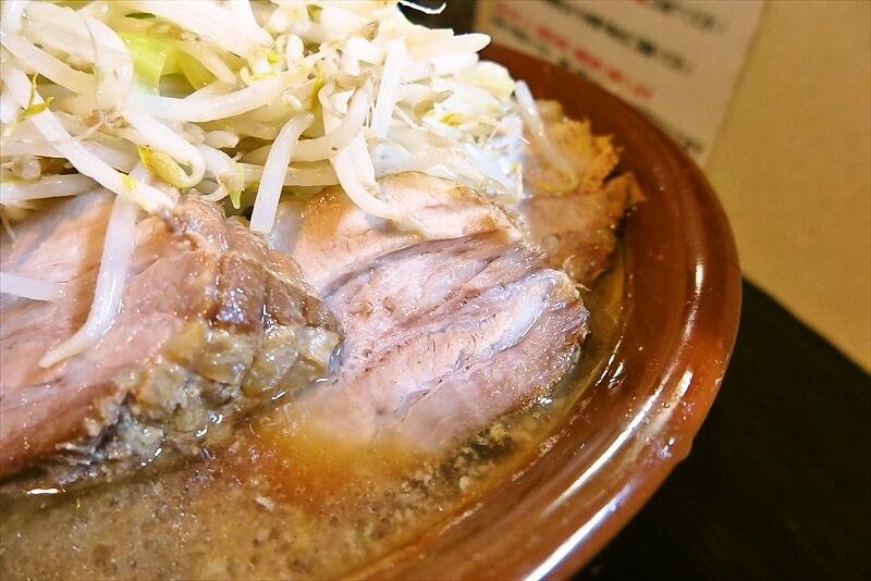 豚星。ラーメン麺マシ700gブタマシ4