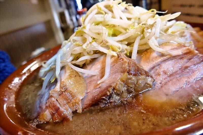 豚星。ラーメン麺マシ700gブタマシ5