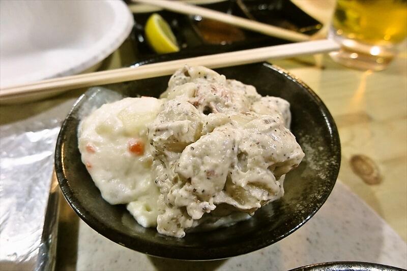 焼肉はせ川ポテトサラダ