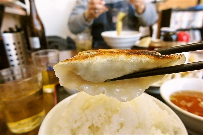中華料理香林焼き餃子アップ