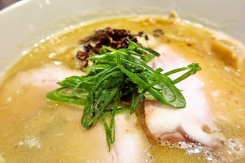 中村麺三郎商店白湯ラーメン4