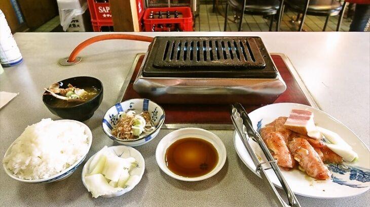 『焼肉オックス』ランチのトントロ定食700円がイケてる件@相模原