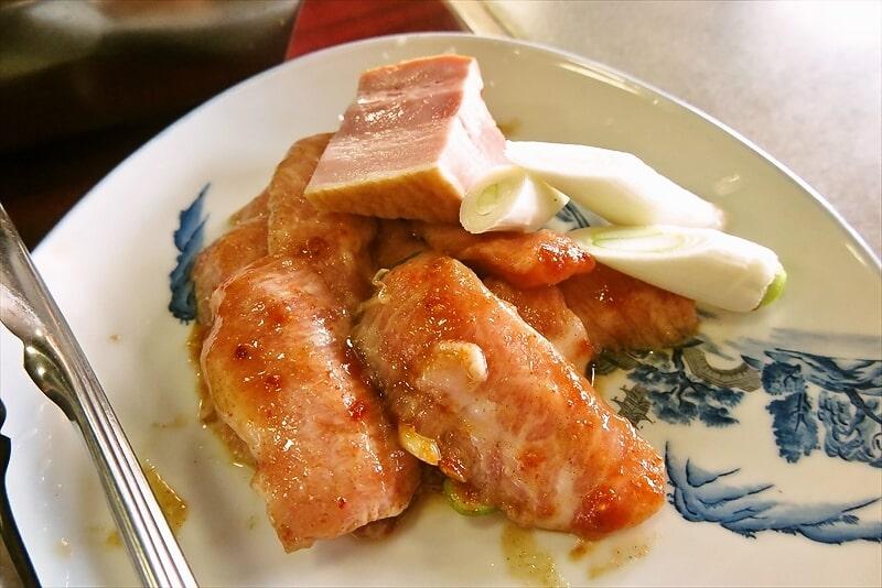 焼肉オックス豚トロ定食2