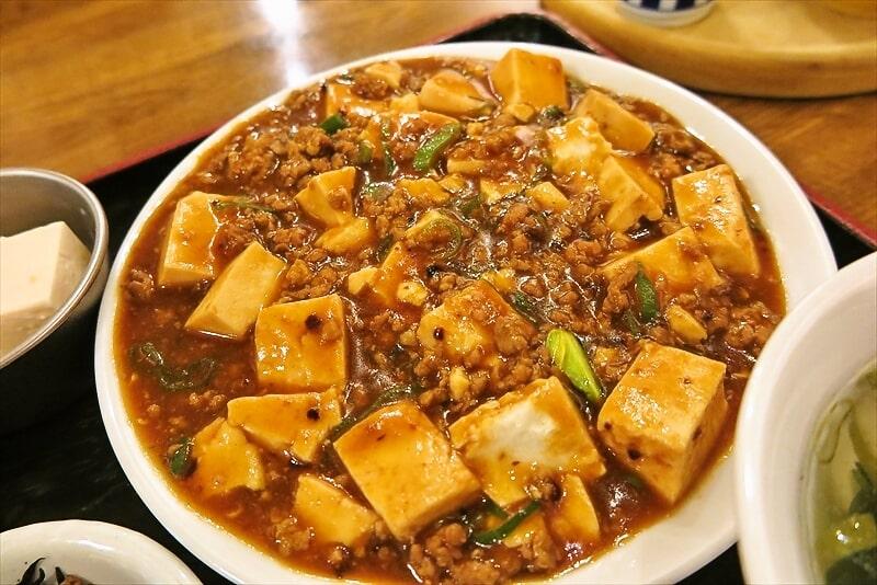 西遊記麻婆豆腐定食3