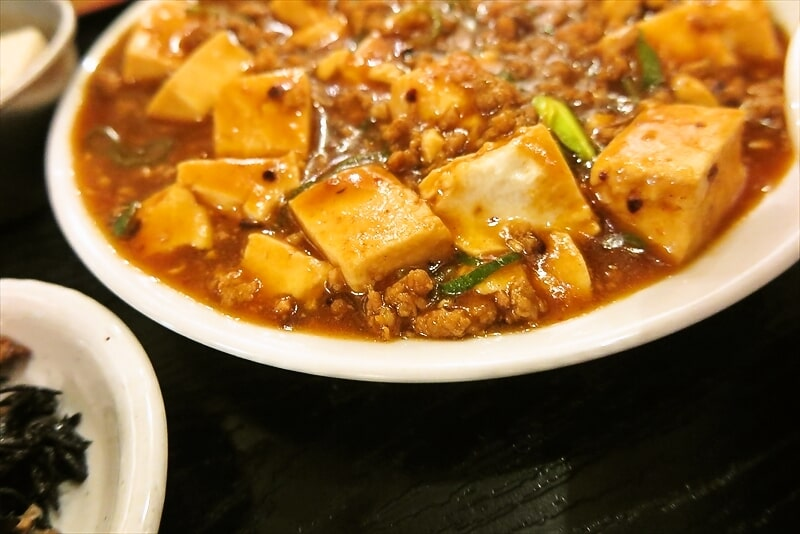 西遊記麻婆豆腐定食4