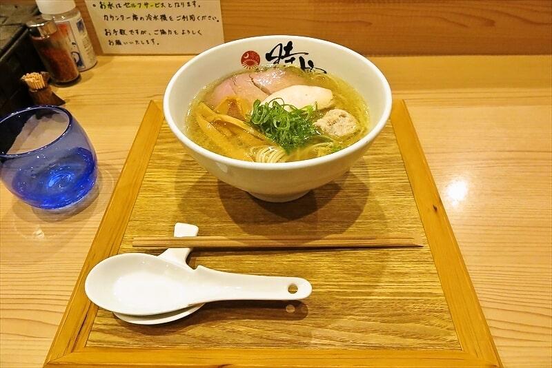 中華蕎麦時雨塩ラーメン1