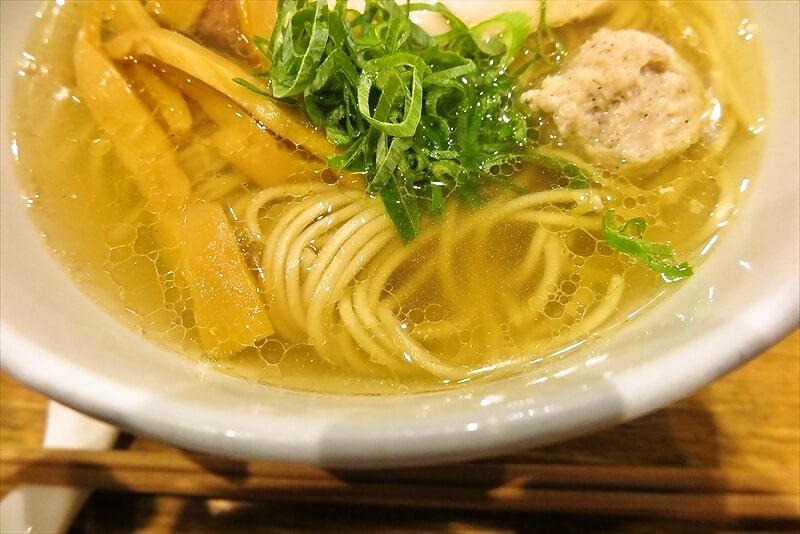 中華蕎麦時雨塩ラーメン6