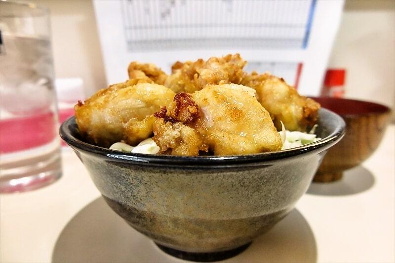 とちの木鶏の唐揚げ定食4