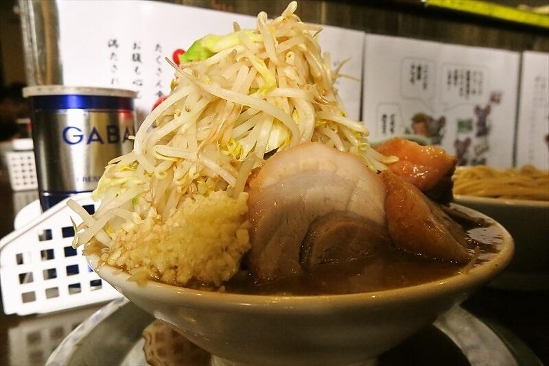 麺屋歩夢つけ麺ラー油抜きヤサイマシマシ5