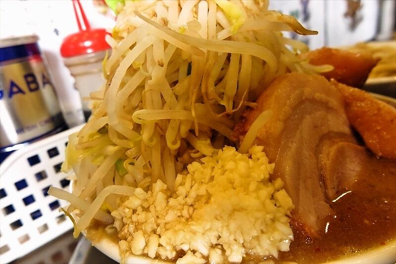 麺屋歩夢つけ麺ラー油抜きヤサイマシマシ6
