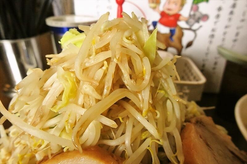 麺屋歩夢つけ麺ラー油抜きヤサイマシマシ7
