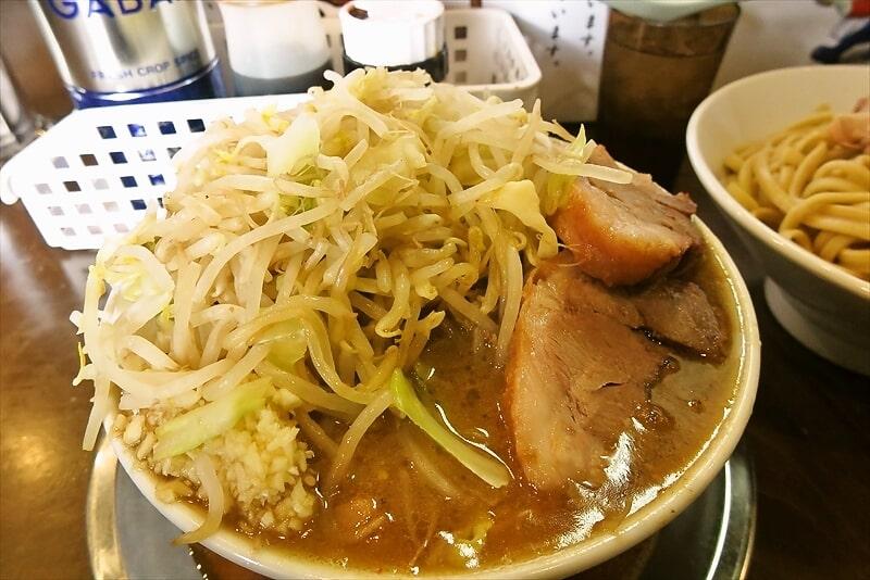 麺屋歩夢つけ麺ラー油抜きヤサイマシマシ10