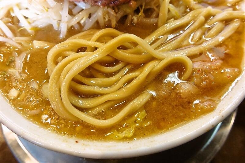 麺屋歩夢つけ麺ラー油抜きヤサイマシマシ12