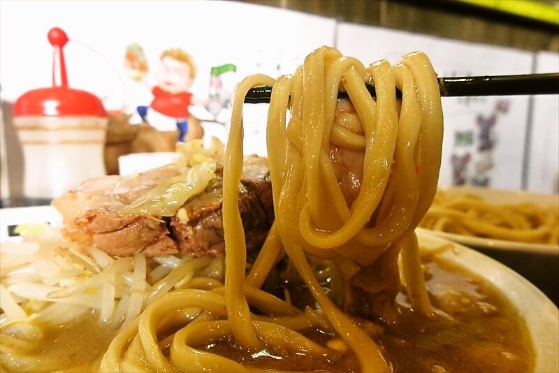 麺屋歩夢つけ麺ラー油抜きヤサイマシマシ13