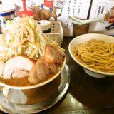 『麺屋 歩夢』小つけ麺ヤサイマシマシのボリューム感よ@相模原