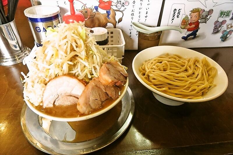 麺屋歩夢つけ麺ラー油抜きヤサイマシマシ1