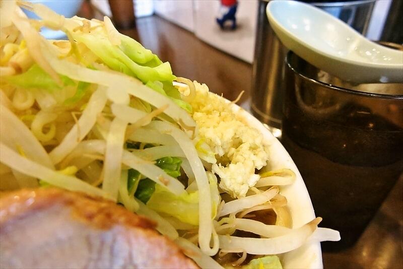 『麺屋 歩夢』小ラーメン豚マシカレー6
