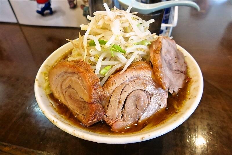 『麺屋 歩夢』小ラーメン豚マシカレー1