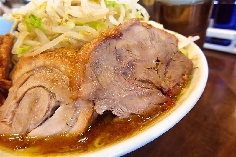 『麺屋 歩夢』小ラーメン豚マシカレー5