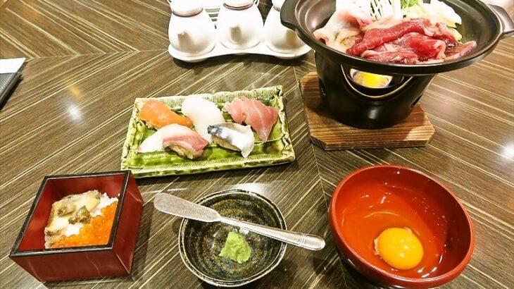 『コンパス』横浜ベイシェラトンホテルで寿司食べ放題ですと?
