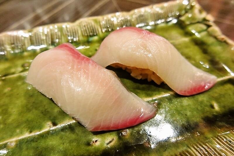 『コンパス』鰤の握り寿司