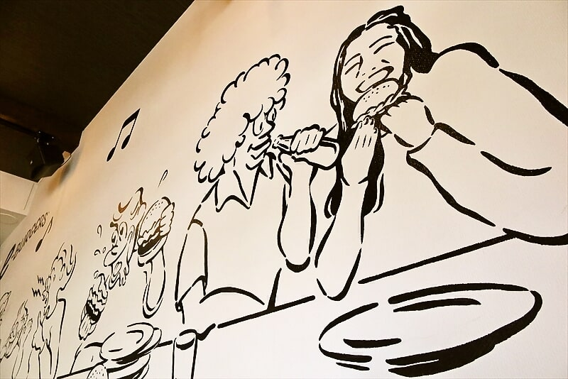 e-burgers店内写真1