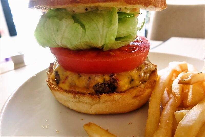 e-burgersレッドチェダーチーズバーガー5