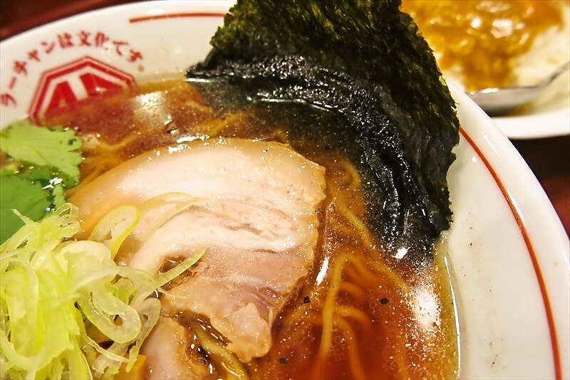 ラーチャン専門我武者羅の淡麗煮干ラーメン3