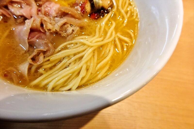 金目鯛らーめん麺鳳仙花金目鯛白湯らぁ麺7