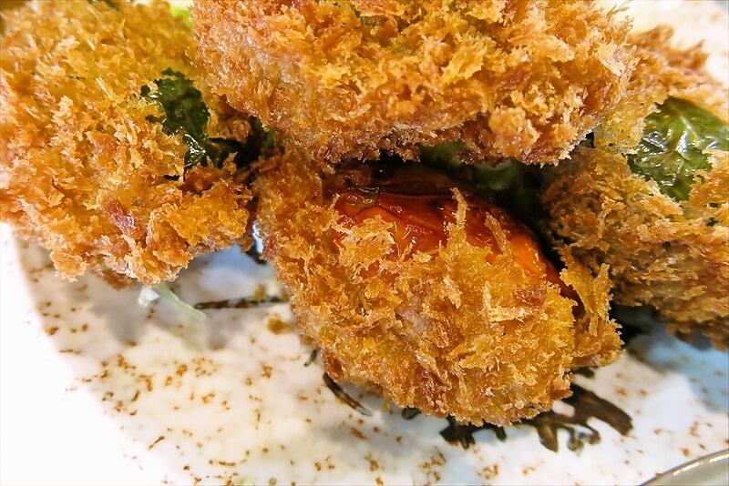 飯野屋ピーマン肉詰めフライ定食6