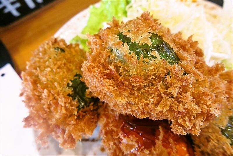 飯野屋ピーマン肉詰めフライ定食7