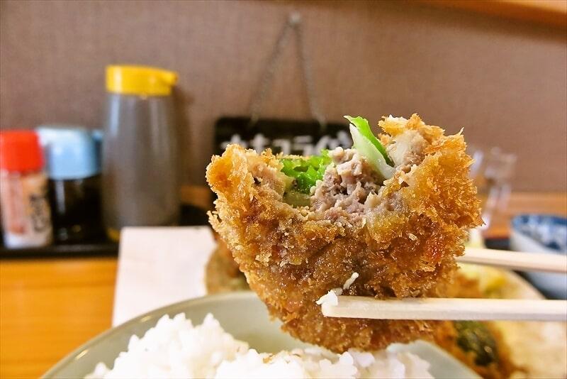 飯野屋ピーマン肉詰めフライ定食9