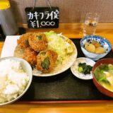 『飯野屋』(いいのや)ピーマン肉詰めフライ定食の逆襲!@相模原