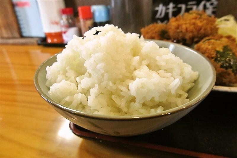 飯野屋ピーマン肉詰めフライ定食2